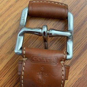 Coach belt .